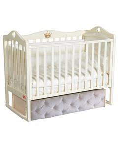Детская кроватка Erika Premium универсальный маятник Francesca