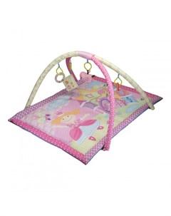 Развивающий коврик Принцесса Мир детства