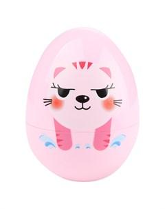 Неваляшка Котёнок розовый Игруша