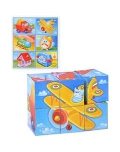 Игровой набор Кубики в картинках 22 из 6 ти штук Stellar