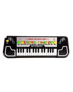 Музыкальный инструмент Синтезатор 32 клавиши Наша игрушка
