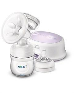 Электрический молокоотсос Ultra Comfort SCF332 31 с аксессуарами Avent