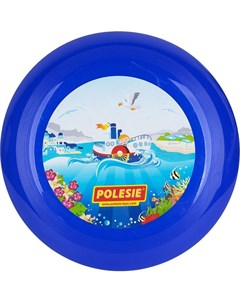 Летающая тарелка синяя d 27 см Полесье