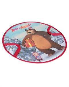 Ледянка Маша и Медведь 52 см 1toy