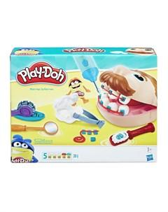 Набор для лепки из пластилина Мистер Зубастик зеленый Play-doh