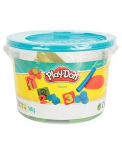 Набор для лепки из пластилина Ведёрочко голубая желтый Play-doh