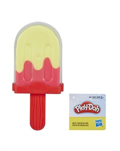 Набор для лепки из пластилина Мороженое зелено розовое Play-doh