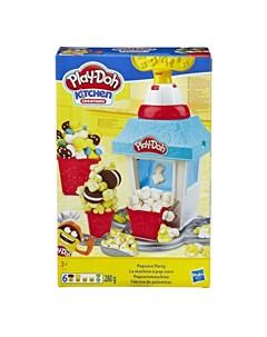Набор для лепки из пластилина Попкорн Вечеринка Play-doh