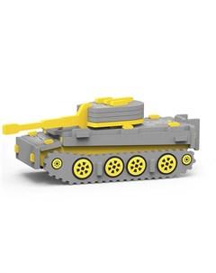 Сборная игрушка из мягких элементов Танк T VI Тигр Magneticus