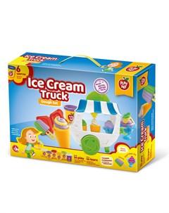 Набор теста для лепки Мороженица на колесах Play art
