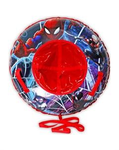Тюбинг Надувные сани Человек Паук Marvel