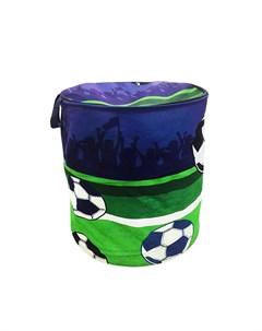 Корзина для хранения Футбольный матч Наша игрушка