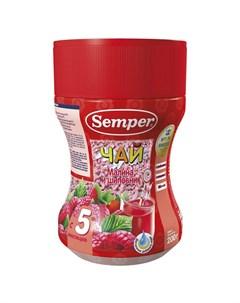 Чай малина шиповник с 5 месяцев 200 г Semper