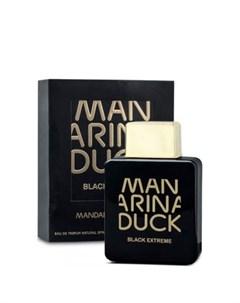 Black Extreme Mandarina duck