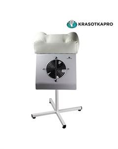 Пылесос для педикюра c подставкой белый 65W Krasotkapro