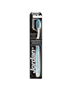 Зубная щетка Expert Clean Medium голубая Jordan