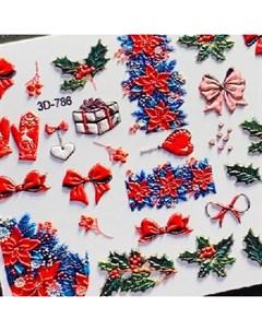 3D слайдер 786 Новый год Рождество Anna tkacheva