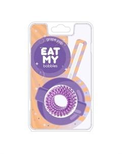 Резинка для волос Виноградный леденец 3 шт Eat my bobbles