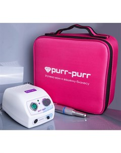 Аппарат для маникюра Аппарат Estron G с сумкой цвета фуксии Purr purr