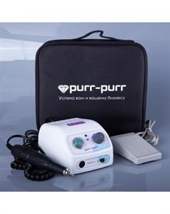 Аппарат для маникюра Аппарат Estron с черной сумкой Purr purr