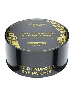 Патчи для глаз Gold Hydrogel 60 шт Nollam lab