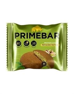 Протеиновое печенье Фисташка и чай матча 35 г Primebar