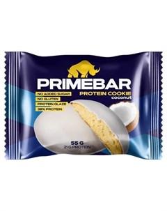 Протеиновое печенье Кокос 55 г Primebar
