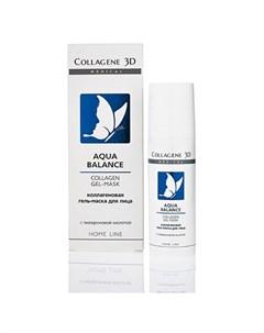 Medical Collagen 3D Гель маска для лица Aqua Balance 30 мл Medical collagene 3d