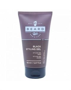 Гель для волос Beard Club Black 150 мл Kaypro