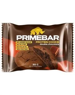 Протеиновое печенье Двойной шоколад 55 г Primebar