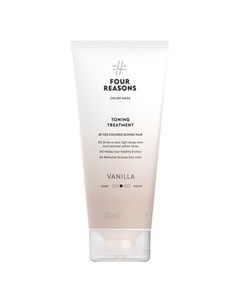 Маска для волос Toning Treatment Vanilla 200 мл Four reasons