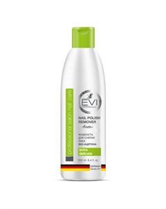 Жидкость без ацетона для снятия лака 250 мл Evi professional