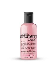 Гель для душа Sweet Strawberry Dream 100 мл Treaclemoon