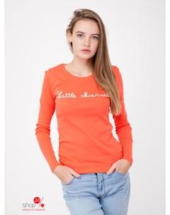 Лонгслив цвет оранжевый Little marcel