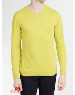 Пуловер цвет желтый Mexx