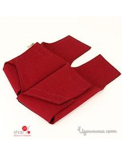 Тапочки цвет бордовый Feltimo