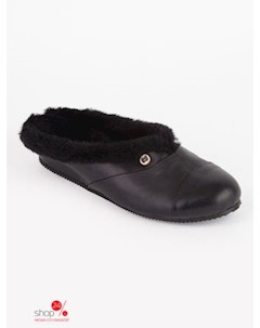 Тапочки цвет черный Paoletti