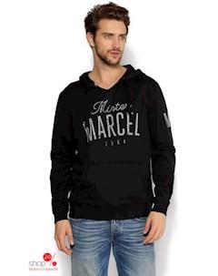Свитшот цвет темно серый Mister marcel
