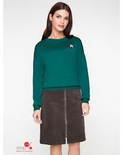 Джемпер цвет темно зеленый Bestia