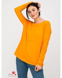 Лонгслив цвет оранжевый Benetton