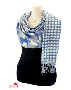 Шарф 180 65 см цвет голубой Le motif couture