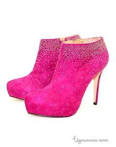 Ботильоны цвет розовый Filumena