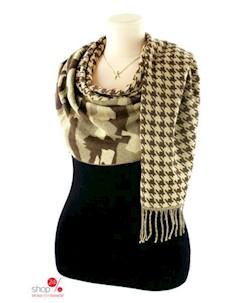 Шарф 180 65 см цвет коричневый Le motif couture