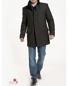 Пальто цвет темно серый Синар