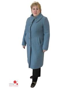 Пальто цвет светло синий Синар
