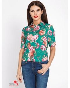 Блуза цвет зеленый Bestia