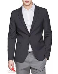 Пиджак цвет черный United colors of benetton