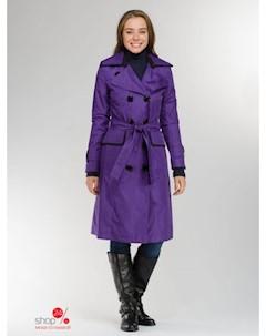 Плащ цвет фиолетовый Ladycoat