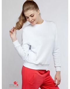 Свитшот цвет белый Borodina ksenia