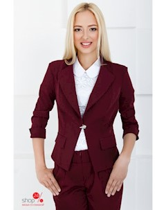 Пиджак цвет бордовый The queen of style